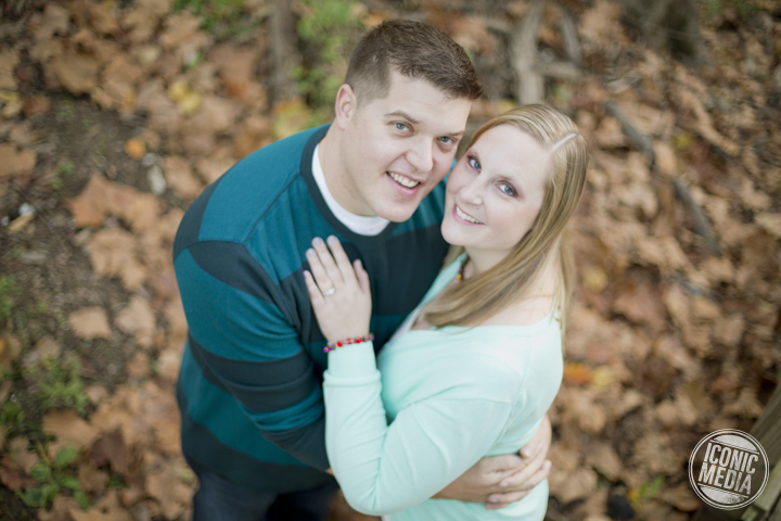 Morgan & Patrick's Engagement Session - Creekside Park - Gahanna, Ohio