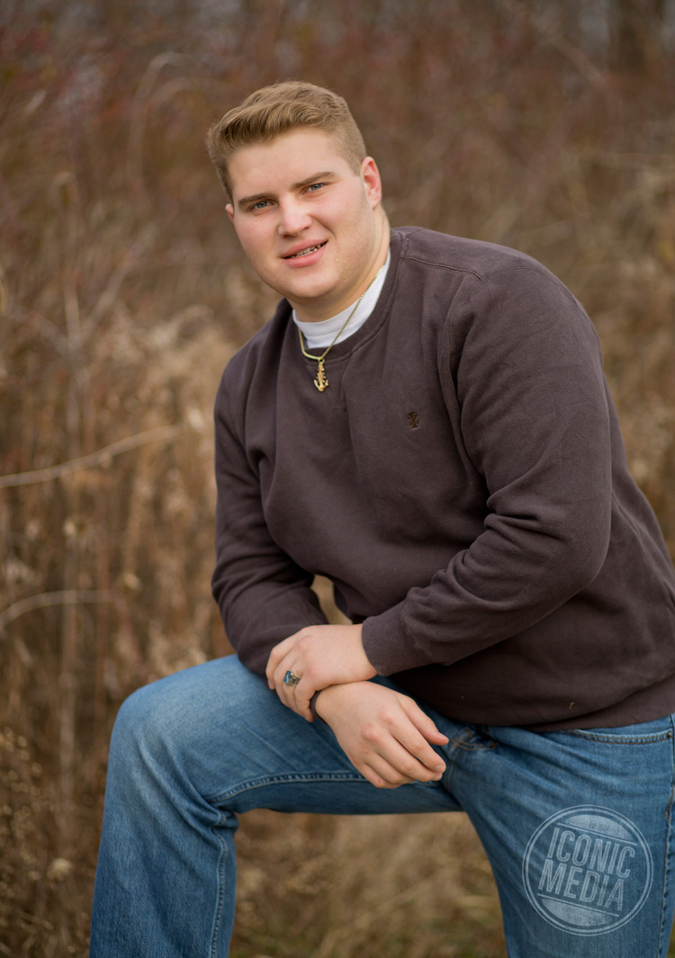 Eddie Kontul's Senior Pictures - Highland High School - Sparta, Ohio